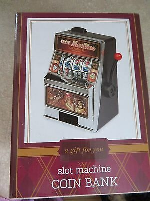 Toy Slot Machine Coin Bank