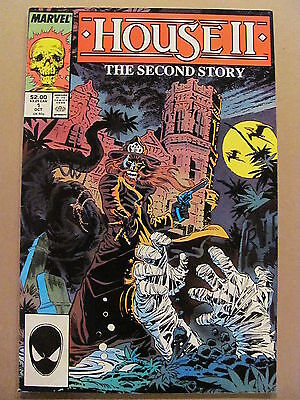 House II The Second Story #1 Marvel Comics 1987