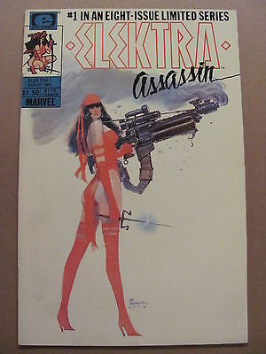 Elektra Assassin #1 Marvel Comics Epic 1986 Frank Miller