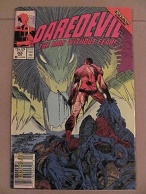 Daredevil #265 Marvel Comics NETFLIX Inferno crossover Newsstand Edition