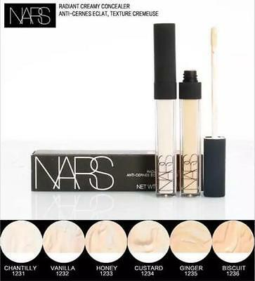 NARS Radiant Creamy Concealer 6ml Full Size Brand New Boxed Free Fast Post Uk