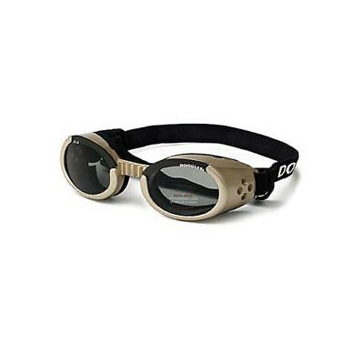 Doggles ILS Dog Sunglasses Extra Small Chrome / Smoke DGILXS16