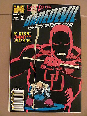 Daredevil #300 Marvel Comics NETFLIX Newsstand Edition