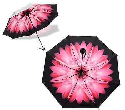 Double Layer Umbrella Windproof Folding Inverted Upside Down Reverse Floral Hot
