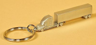 Truck driver semi keychain gifts million mile safe driver award truckers trinket