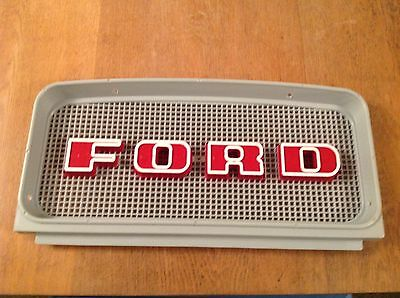 Ford 2000,3000,4000,5000,7000 upper Front Grill.