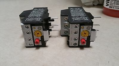 lOT OF 2 NEVER USED General Electric overload relay Nema 1   RT1N    8 - 12 amps
