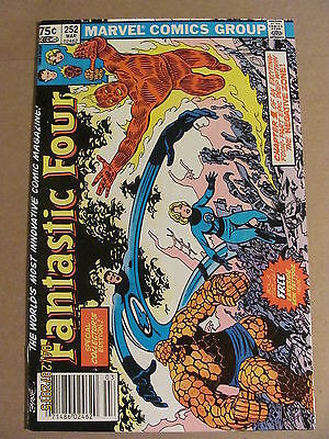 Fantastic Four #252 Marvel Comics 1961 Series Newsstand Edition