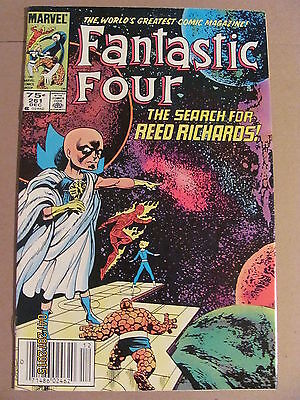 Fantastic Four #261 Marvel Comics 1961 Series Newsstand Edition