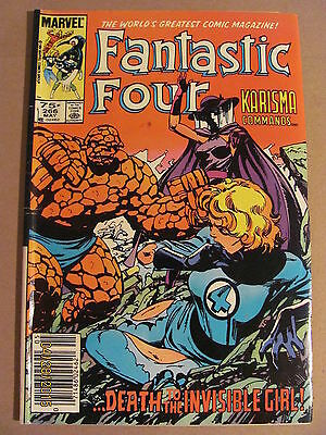 Fantastic Four #266 Marvel Comics 1961 Series Newsstand Edition