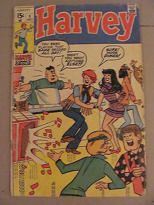 Harvey #1 Marvel Comics Bronze Age 1970 Marvel's Archie
