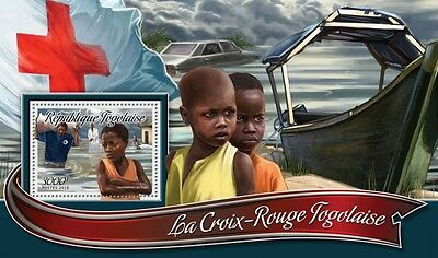 Z08 IMPERFORATED TG16315b TOGO 2016 Red Cross MNH