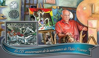 Z08 IMPERFORATED TG16313b TOGO 2016 Pablo Picasso MNH