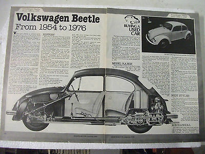 Volkswagon Beetle 1954 To 1976 Secondhand Car Buying Guide