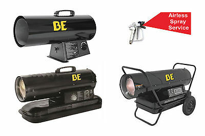 Bar/be Forced Air Diesel Heaters - 20Kw, 37Kw, And 52Kw