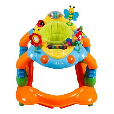 Safety 1st 3 in1 Melody Garden Activity Centre BABY  WALKER Toys Play Gift AU