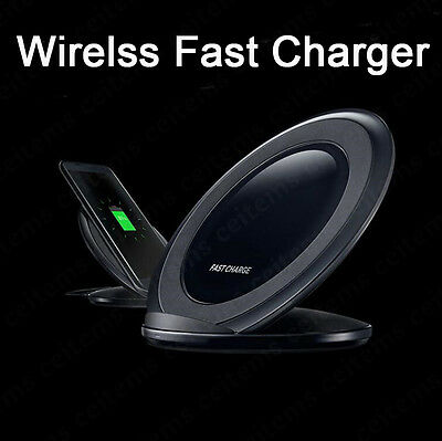 Real Qi Wireless Fast Charger Charging Pad for Samsung Galaxy S8 S7 Note 8 5 Lot