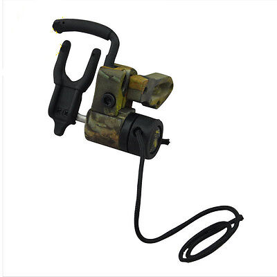 Camo Drop Away Ultra Arrow Rest Right Hand Containment Lock Down Compound Bow