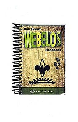 Boy Scouts of America  WEBELOS Spiral Coil Bound Handbook BSA New