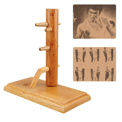 Combined Wing Chun Wooden Dummy Sticky Hand Strength Trainning Wood Crafts Model