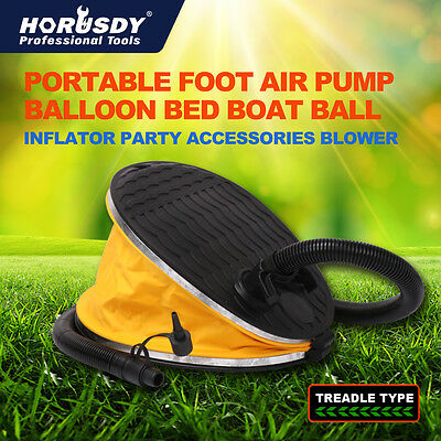 Portable Foot Air Pump Balloon Bed Boat Ball Inflator Party Accessories Blower