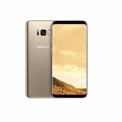 Samsung Galaxy S8 G950FD Duos SIM 4G LTE 64GB Maple Gold Nouveau