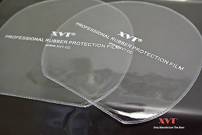 XVT Professional  Table Tennis Rubber Protective Films  / Rubber films 20pcs/lot