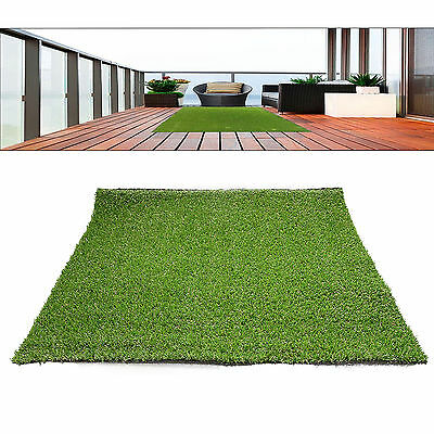 18mm Thick Synthetic Artificial Grass Turf Lawn Garden Landscape Plant 1.8*0.9m