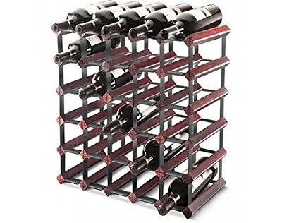 Wood and Metal Final Touch Wine Racks