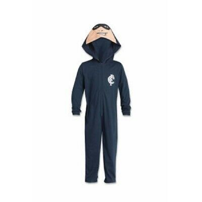 Carlton Blues Childrens Bodysuit with Hood AFL Official BNWT