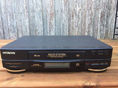 Serviced Hitachi VT-M428 Video Recorder Player No REMOTE VHS Player VCR