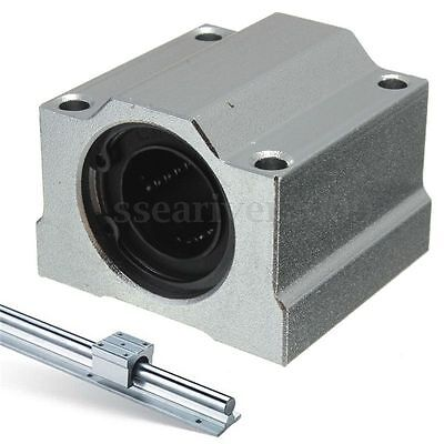 Linear Motion Ball Bearing Aluminum SCS8/10/12/16/20UU Slide Bushing For CNC