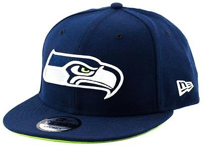 Seattle Seahawks New Era NFL Team 9Fifty Hat Genuine Baseball Cap New Era