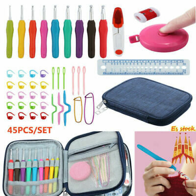 16pcs Fusible Bias Binding Tape Maker Sewing Quilting Awl Binder Foot Tools Kit