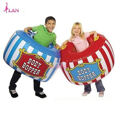 2pcs Inflatable Bumper Ball Body Zorb Bubble Soccer Kids Childrens Game Toy