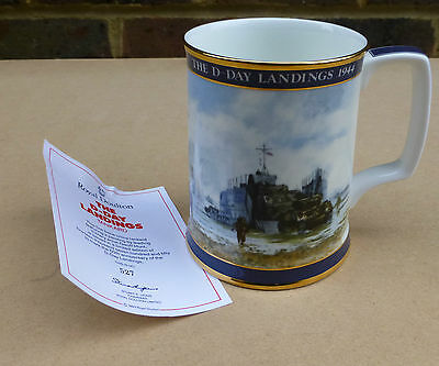 ROYAL DOULTON Limited Edition The D-Day Tankard