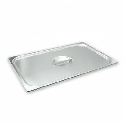 6 X Lid Cover For Gastronorm Pan Chafing Dish Stainless Steel (6 Sizes)