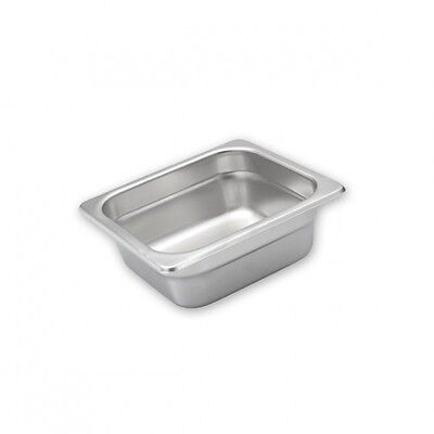 6 X Gastronorm Anti-Jam Pans 1/6 SIZE H/DUTY STAINLESS STEEL (Choose Depth)