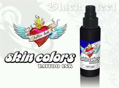 Tinta Tattoo Ink HOMOLOGADA ECE Approved SKIN COLORS - LIGHT SUMY - 30ML