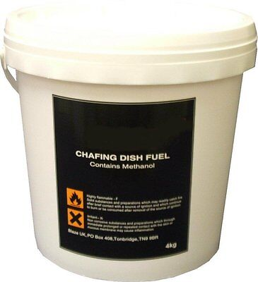 4Kg Bulk Gel Bucket Refill Chafing Fuel Bain Marie Warmer Methanol Gel