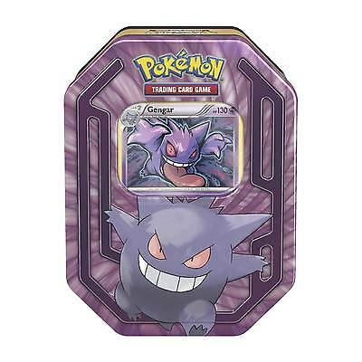 Pokemon TCG Trading Cards GENGAR Collectors Tin! FACTORY SEALED! IN STOCK!!