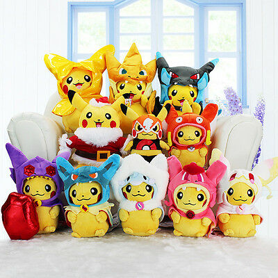 Pokemon Go Character Soft Toys Plush Doll Pikachu Evolution Charizard Figures