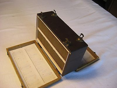 Vintage Two Sided Photo Slide Holder Box-Barnett & Jaffe