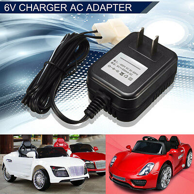 6V Wall Charger AC Adapter For TRAX ATV Quad Ride On Car Battery Powered Kid Hot