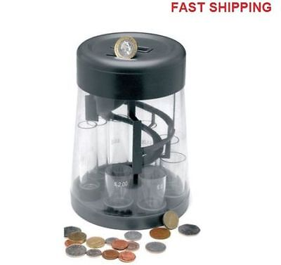 Electronic Coin Counting Money Jar, Uk Coins Digital Display Money Box Pennies