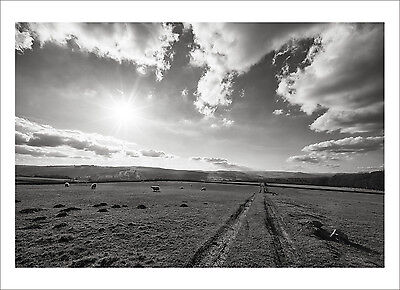 The Sheffield Lens - Longshaw View - photography giclee print various sizes