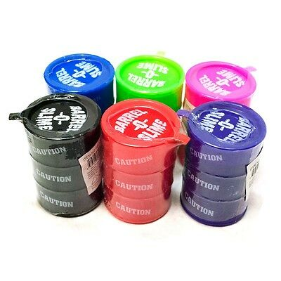 Barrel O Slime - Colourful Spooky Putty Slime Goo Great For Kids And Parties