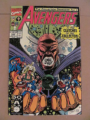 Avengers #339 Marvel Comics 1963 Series 9.2 Near Mint-