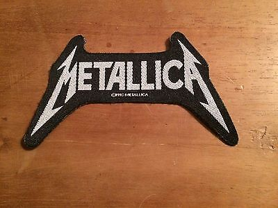 Metallica logo patch - Official Metallica sew on patch featuring shaped logo
