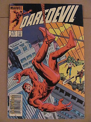 Daredevil #210 Marvel Comics NETFLIX Newsstand Edition